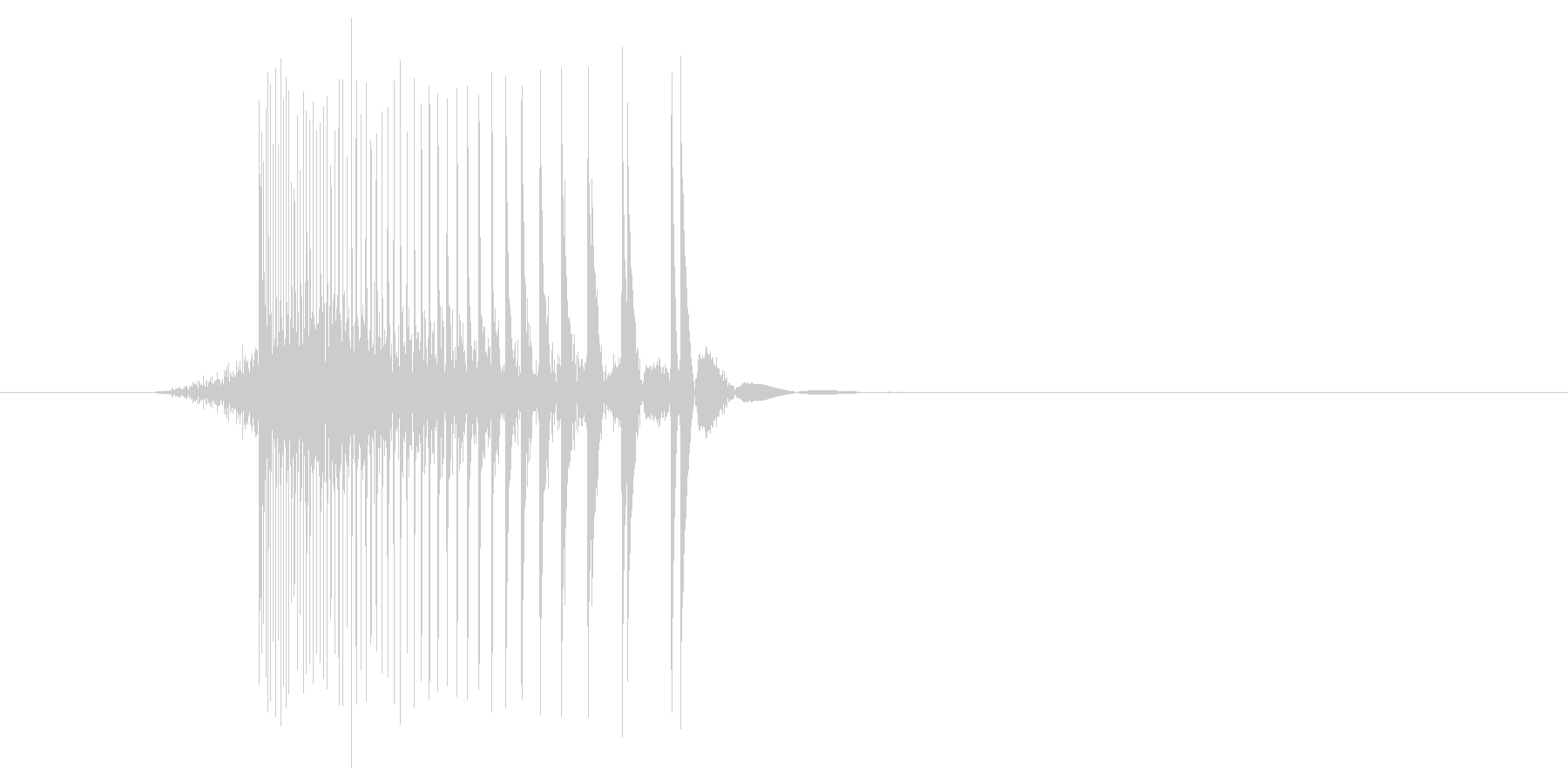 ゲーム(ファミコン風)レーザー音_040の未再生の波形
