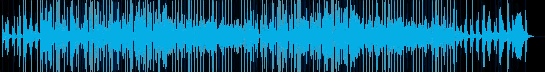 リズム&ブルース風のご機嫌なソング-1の再生済みの波形