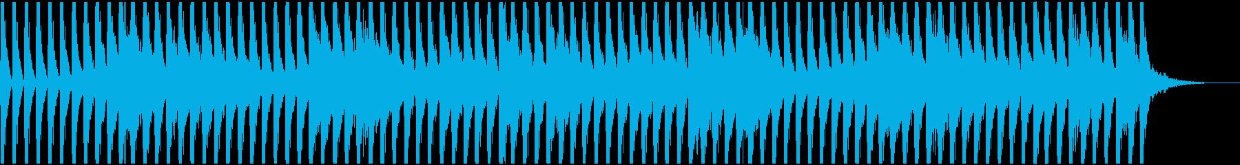 不思議な四つ打ち-Bの再生済みの波形