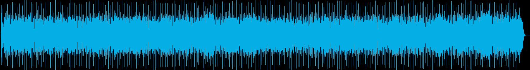 しっとりしたキーボードが特徴のバラードの再生済みの波形