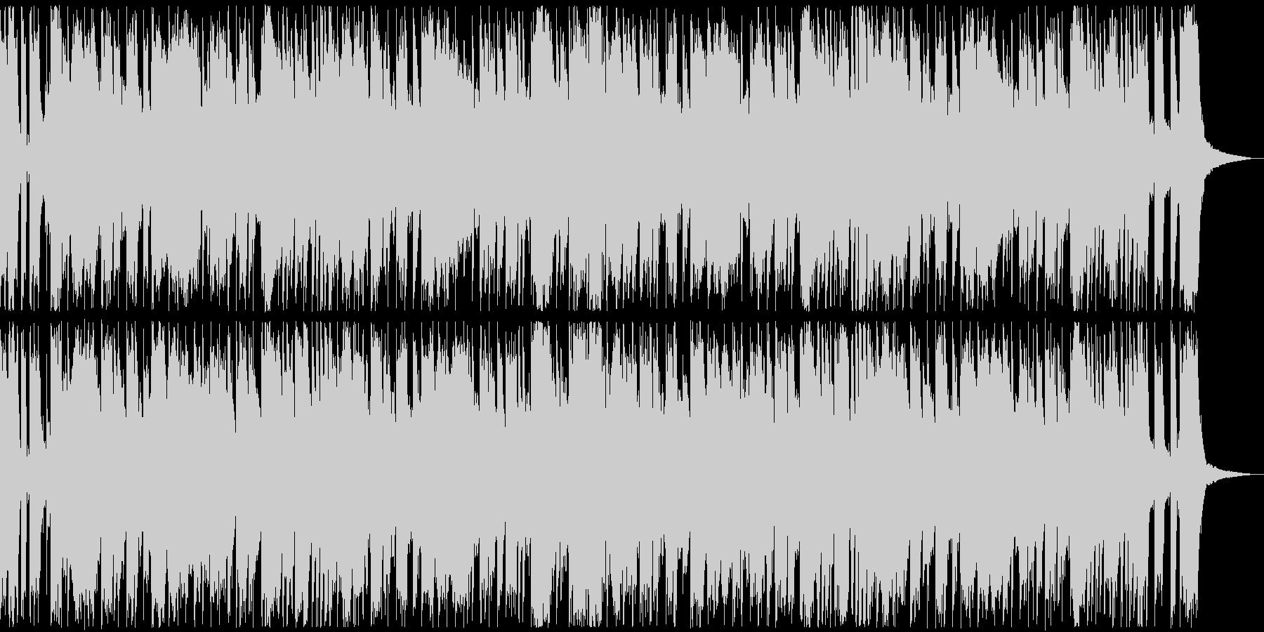 30秒、ポップ、軽快、コミカルの未再生の波形