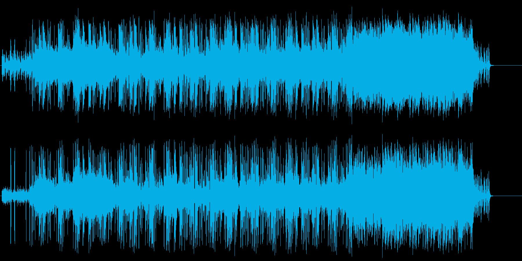不思議な気分に陥るテクノ/ドキュメントの再生済みの波形