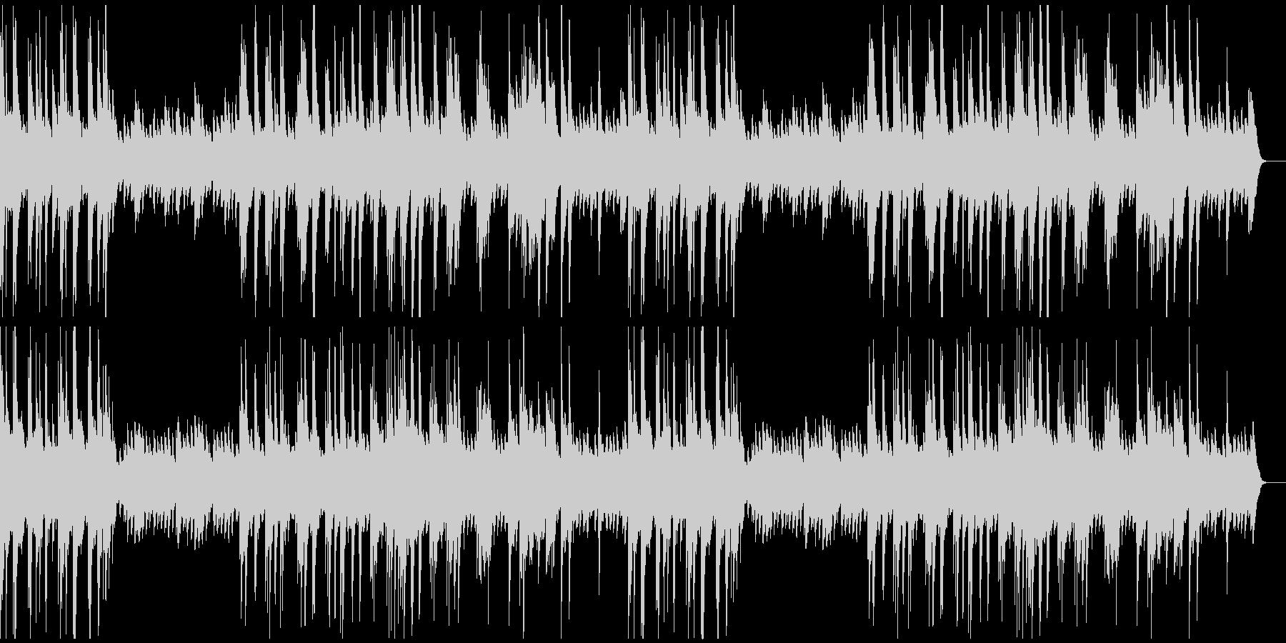 ゆったりと明るいソロ・ピアノ曲の未再生の波形