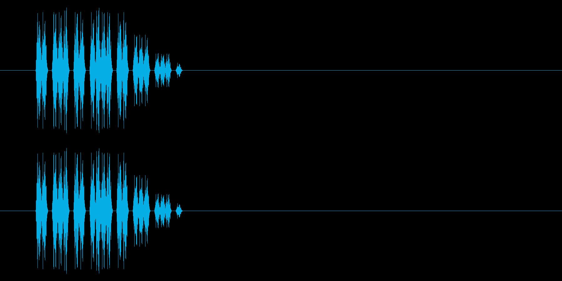 SNES 格闘02-08(電気)の再生済みの波形