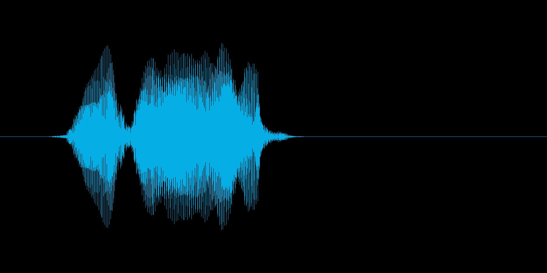 Hello(ハロー)の再生済みの波形