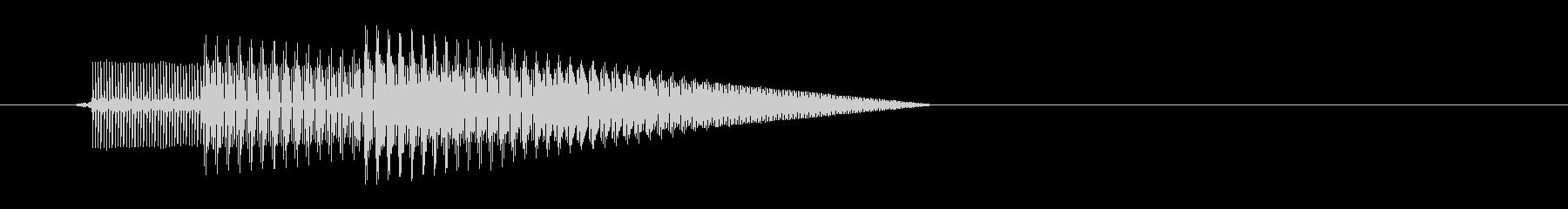 テレレッ↑(アイテム取得、8bit)の未再生の波形