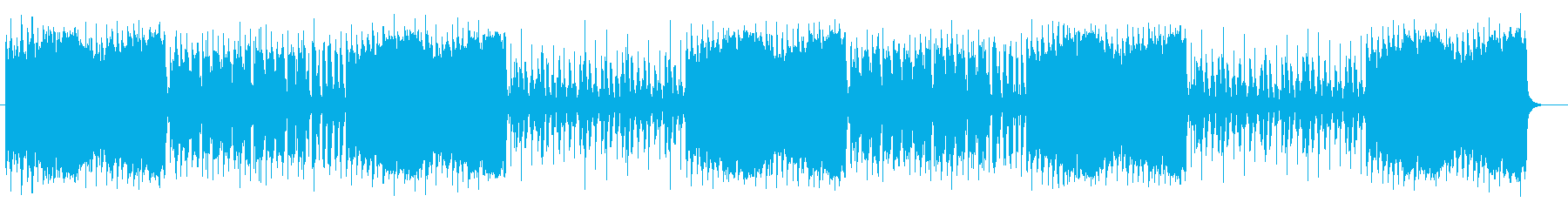 穏やかでほのぼのとしたハーモニカポップスの再生済みの波形