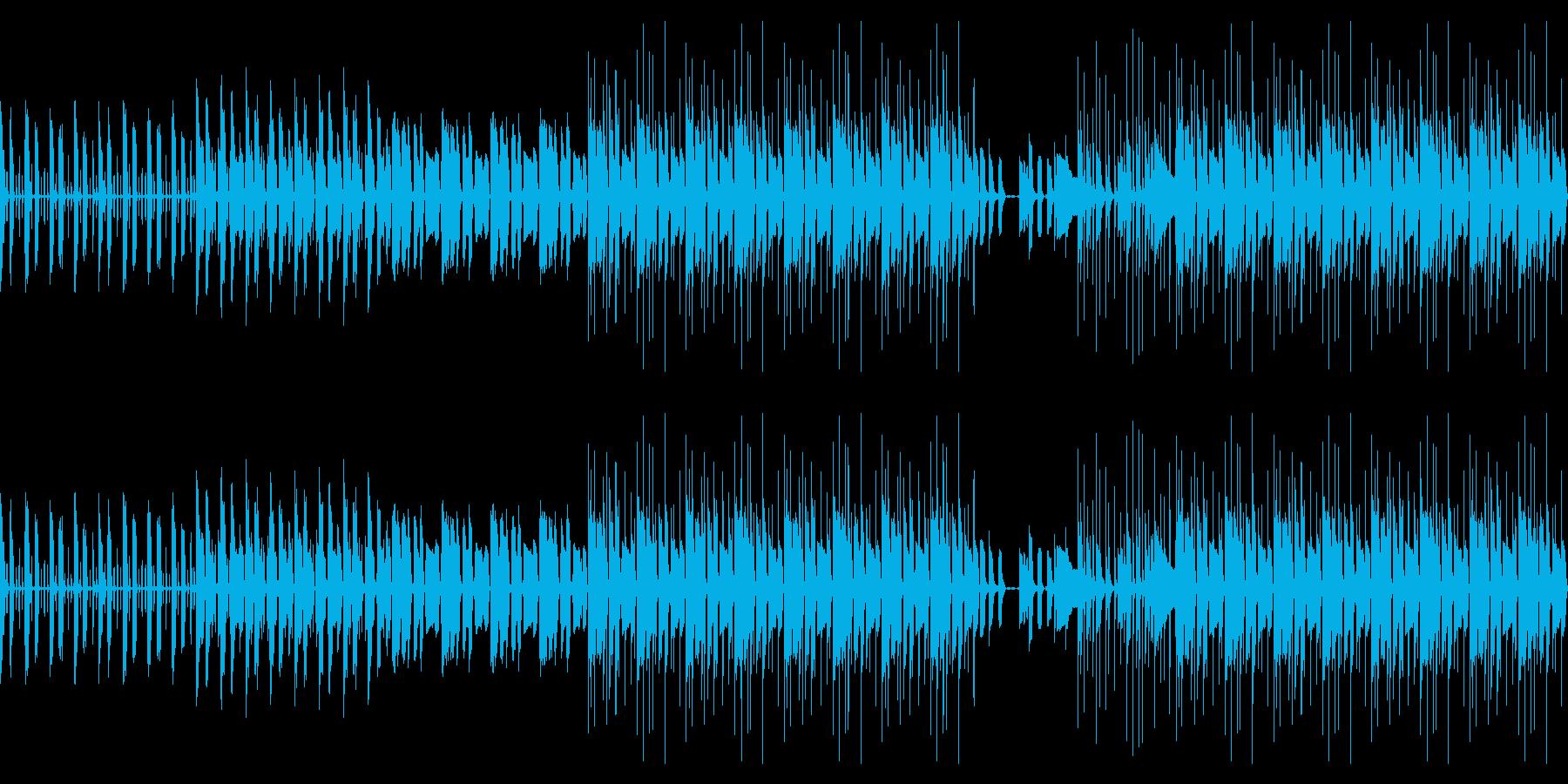 【爽やかギターカッティングBGM】の再生済みの波形