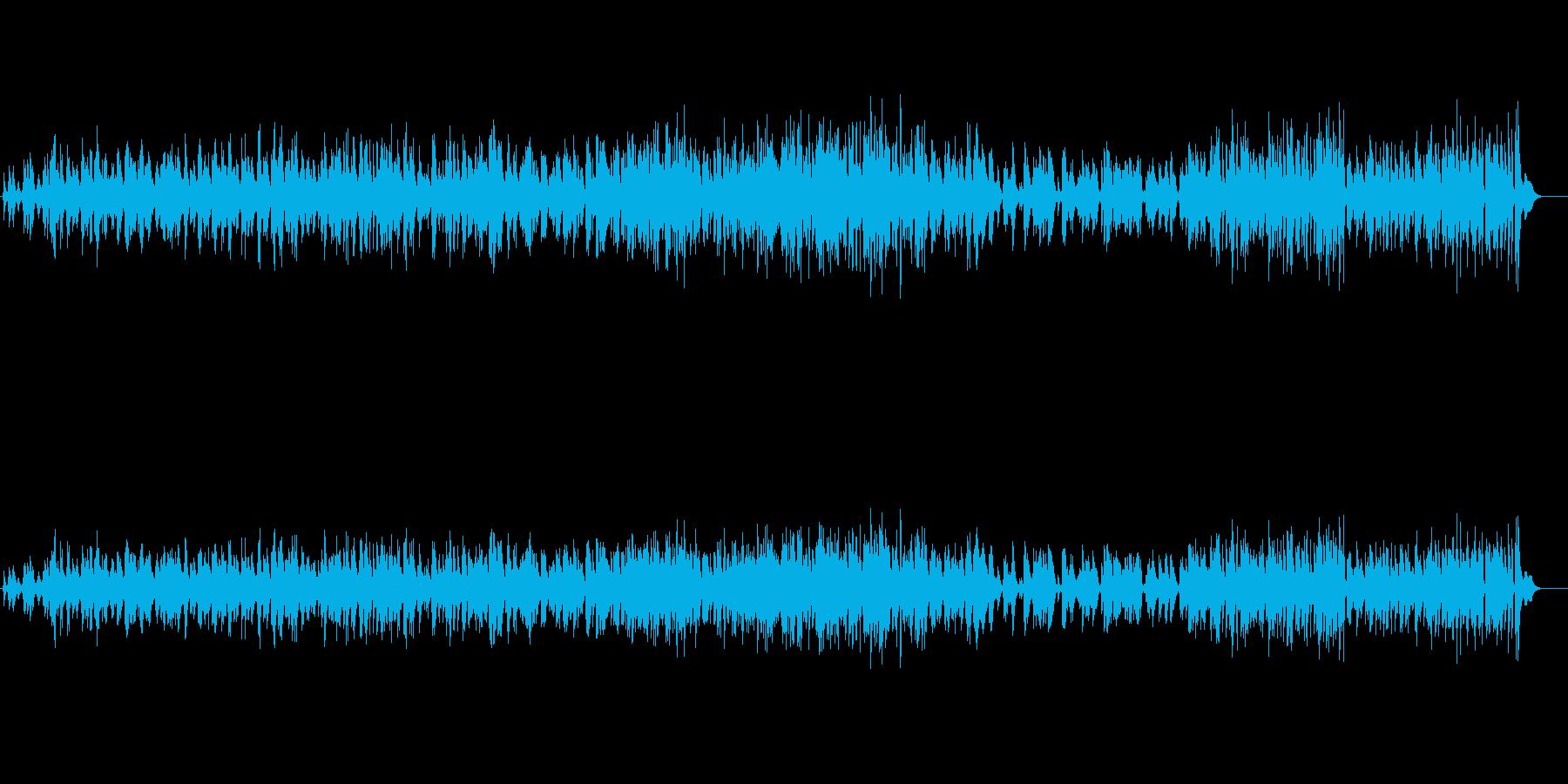 気だるい雰囲気のピアノジャズの再生済みの波形