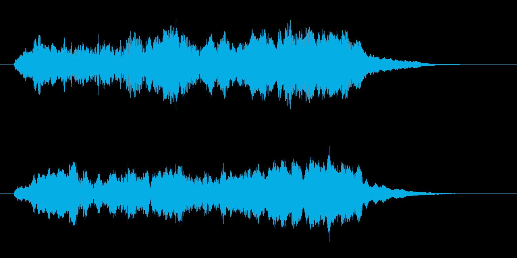 幻想的な神秘的なコーラス 高音版の再生済みの波形