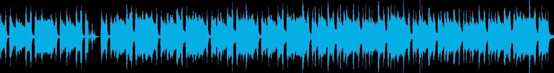メロウなポップ①爽やか・優しさ【ループ】の再生済みの波形