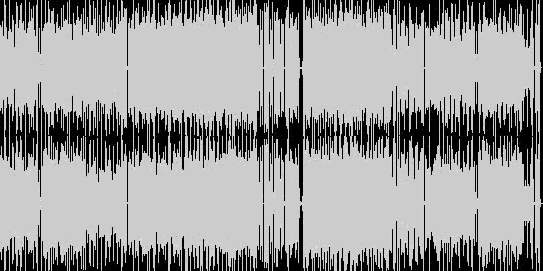 高音質♪ロックアップループ曲の未再生の波形