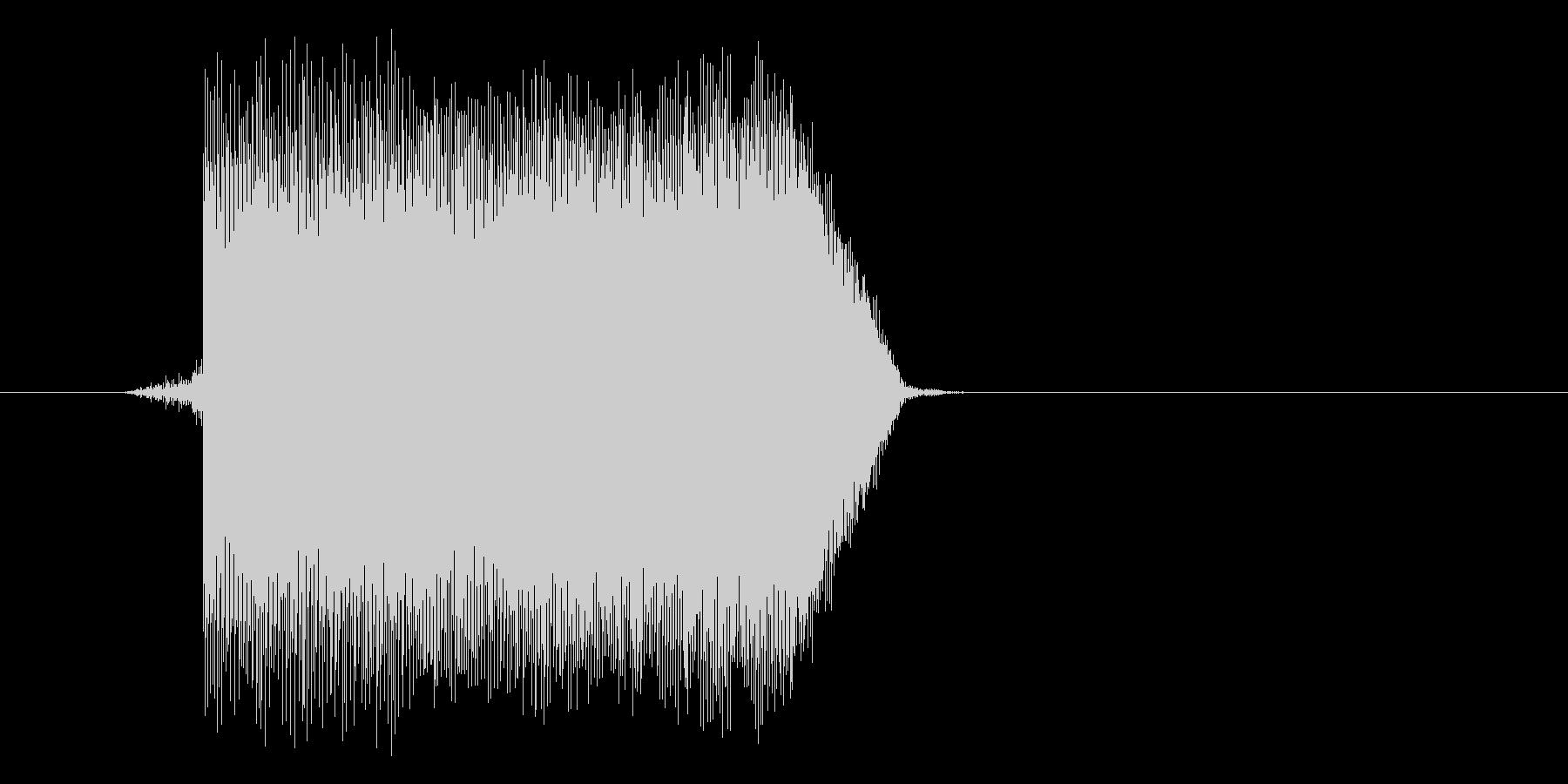 ゲーム(ファミコン風)ジャンプ音_044の未再生の波形