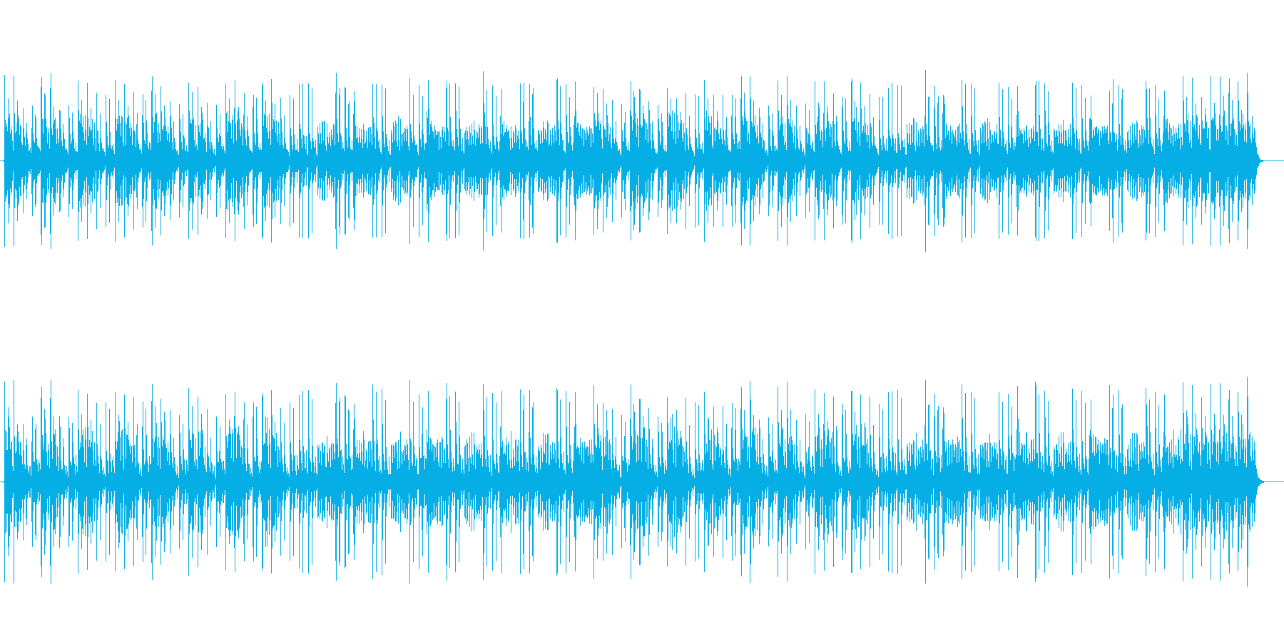 幻想的でしなやかなシンセサウンドの再生済みの波形