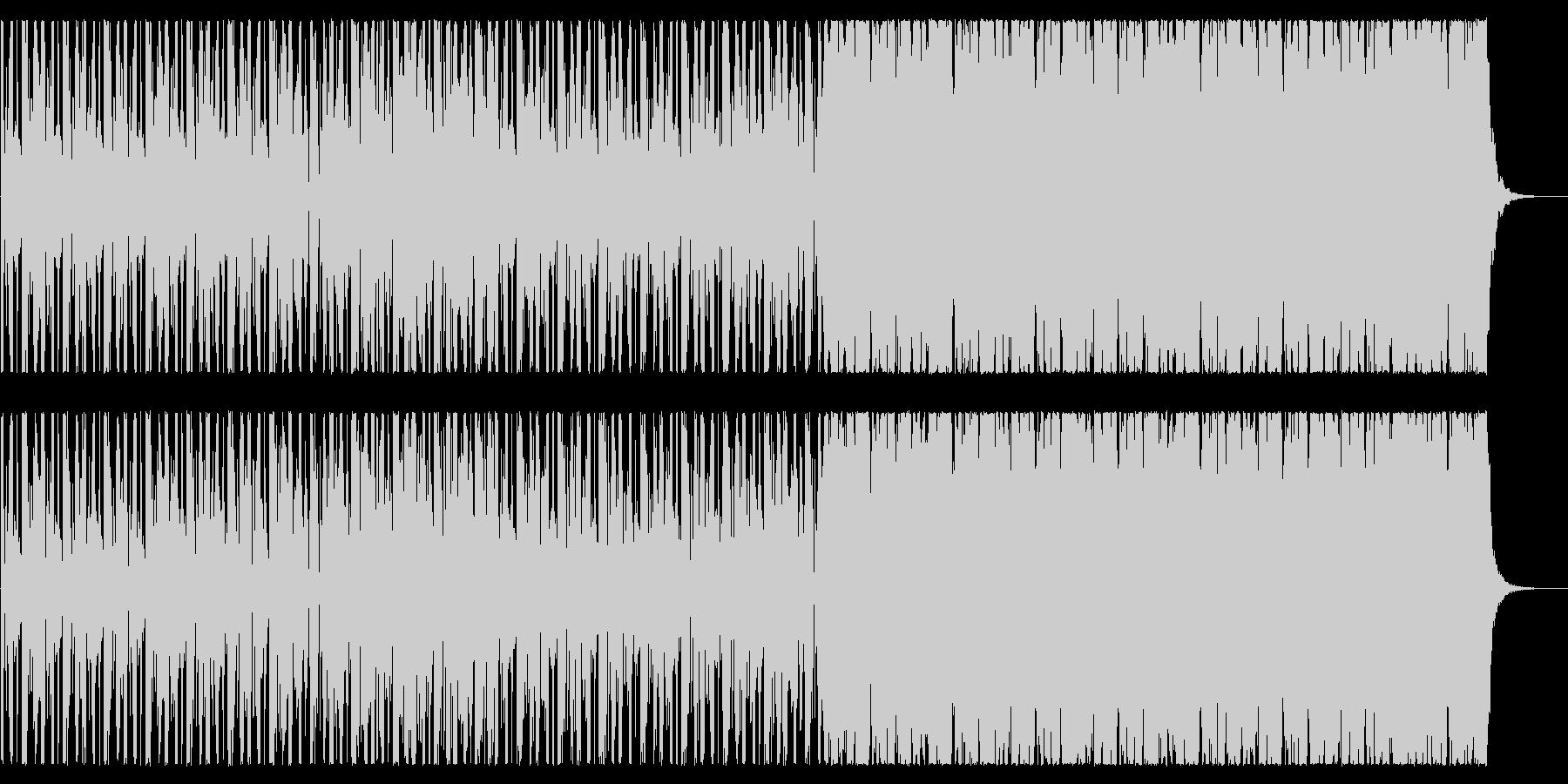 前向きなスムースジャズ系BGMですの未再生の波形