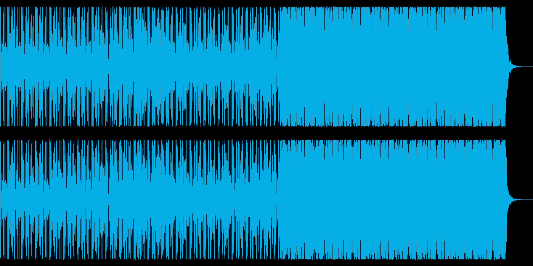 前向きなスムースジャズ系BGMですの再生済みの波形