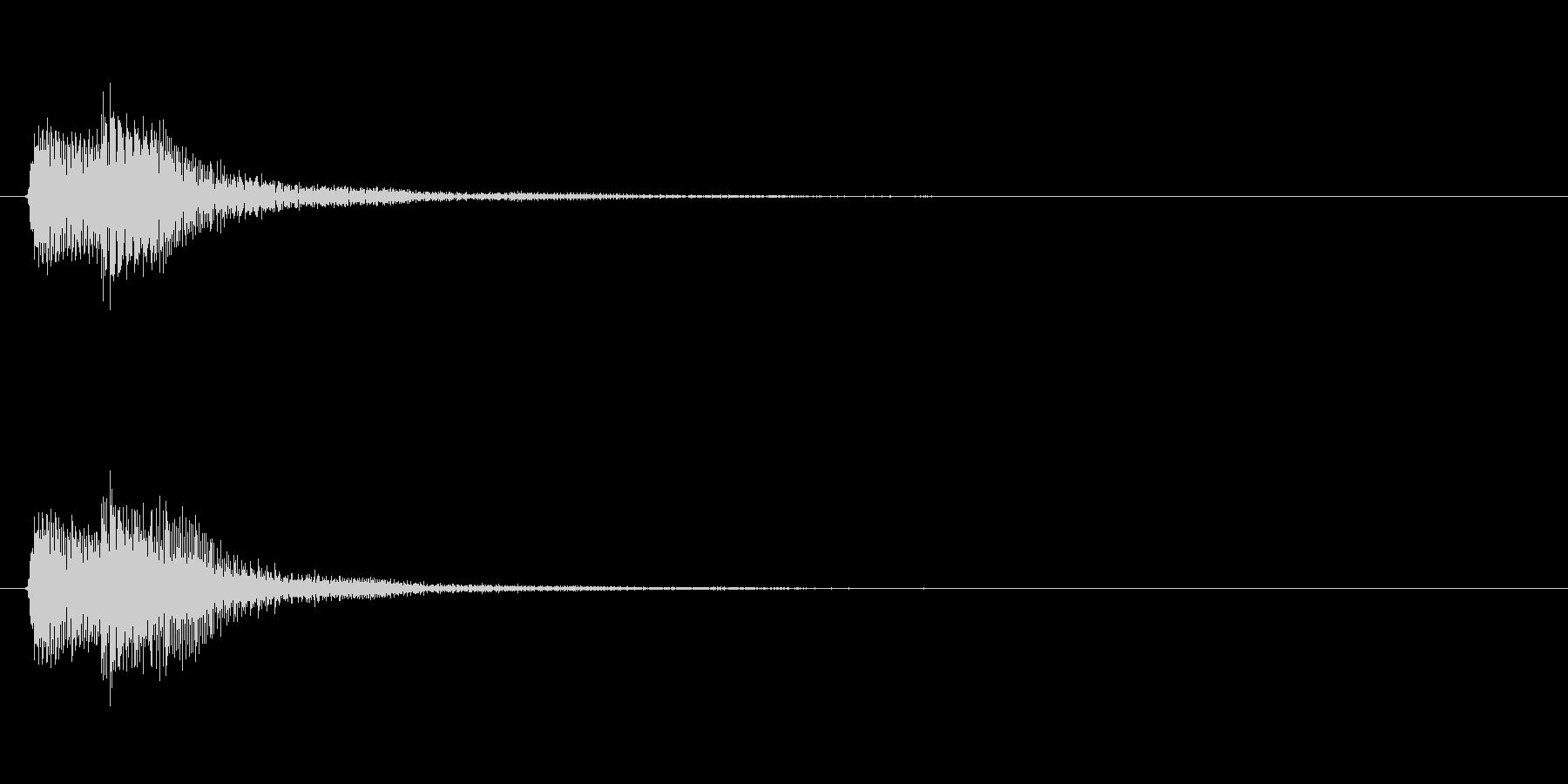 アプリ・ゲームの決定音_005の未再生の波形