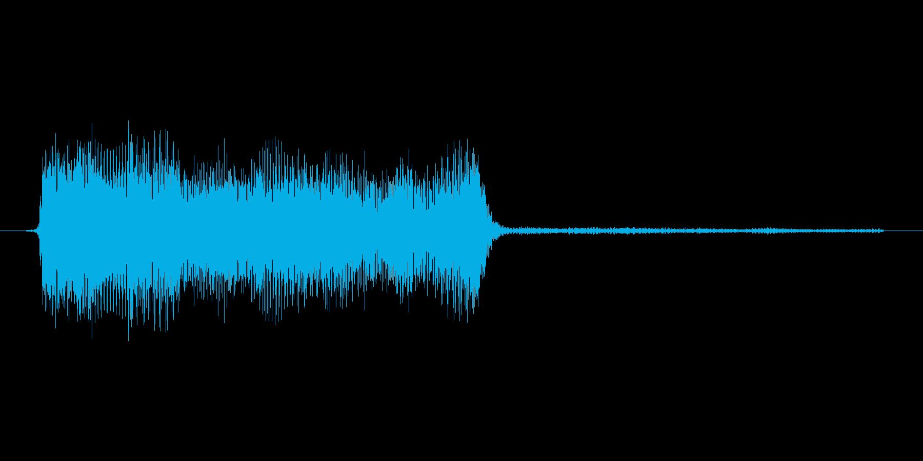 ゲーム、クイズ(ピンポン音)_010の再生済みの波形