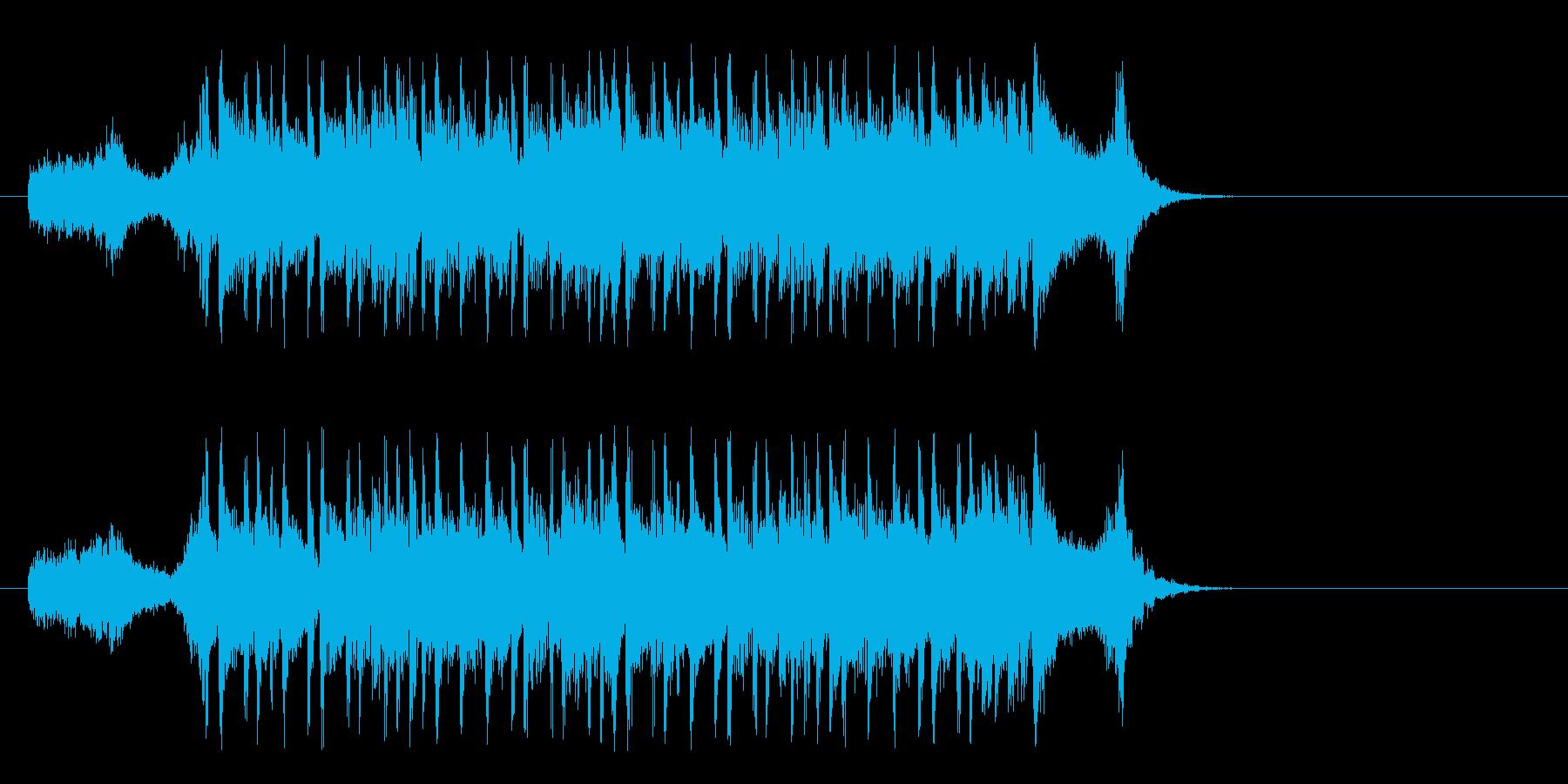 町に飛び出す様なポップ(イントロ)の再生済みの波形