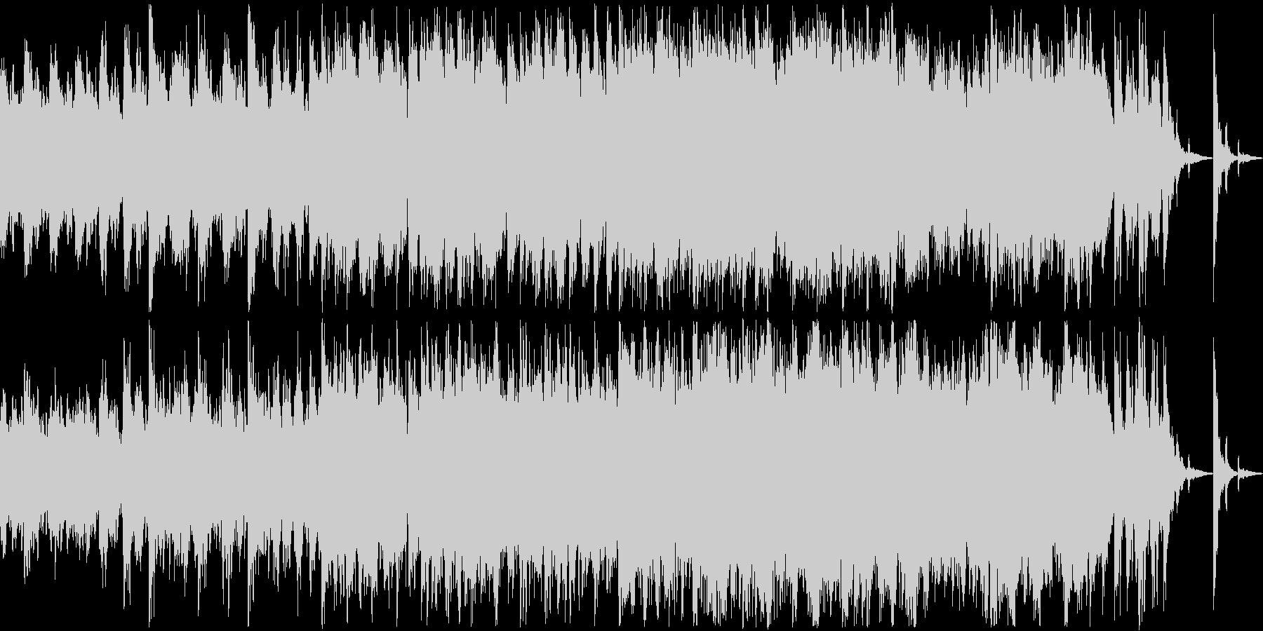 和楽器を盛り込んだ和風ホラー/ループ可の未再生の波形