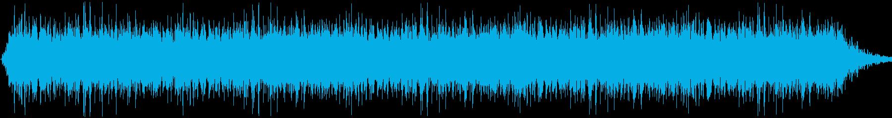 ザァー!勢いのよい音の再生済みの波形