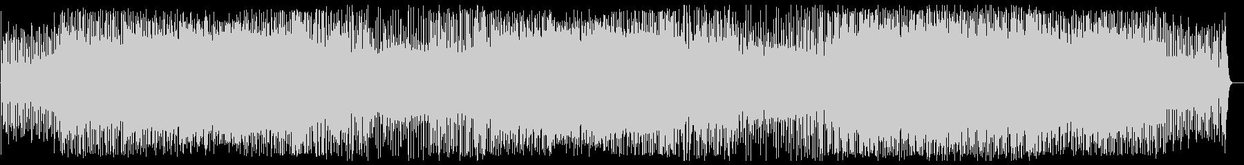 軽快でリズミカルなピアノテクノポップの未再生の波形