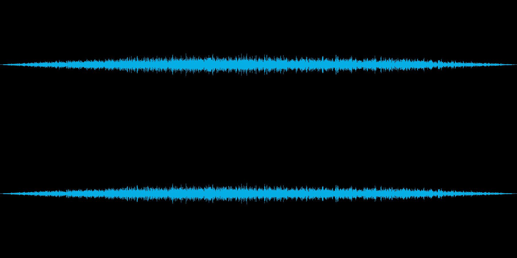 飛行機(旅客機)が飛ぶ音4の再生済みの波形