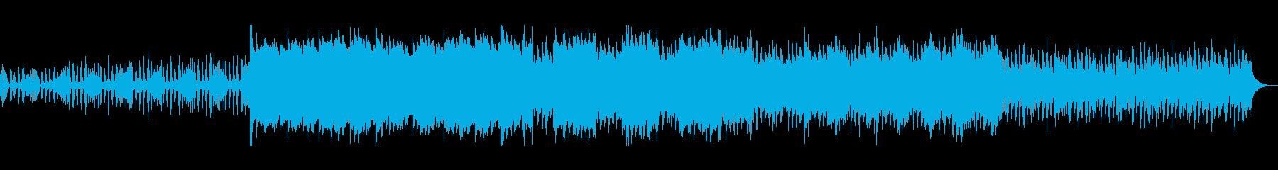 弦楽器とピアノのアンサンブルの再生済みの波形