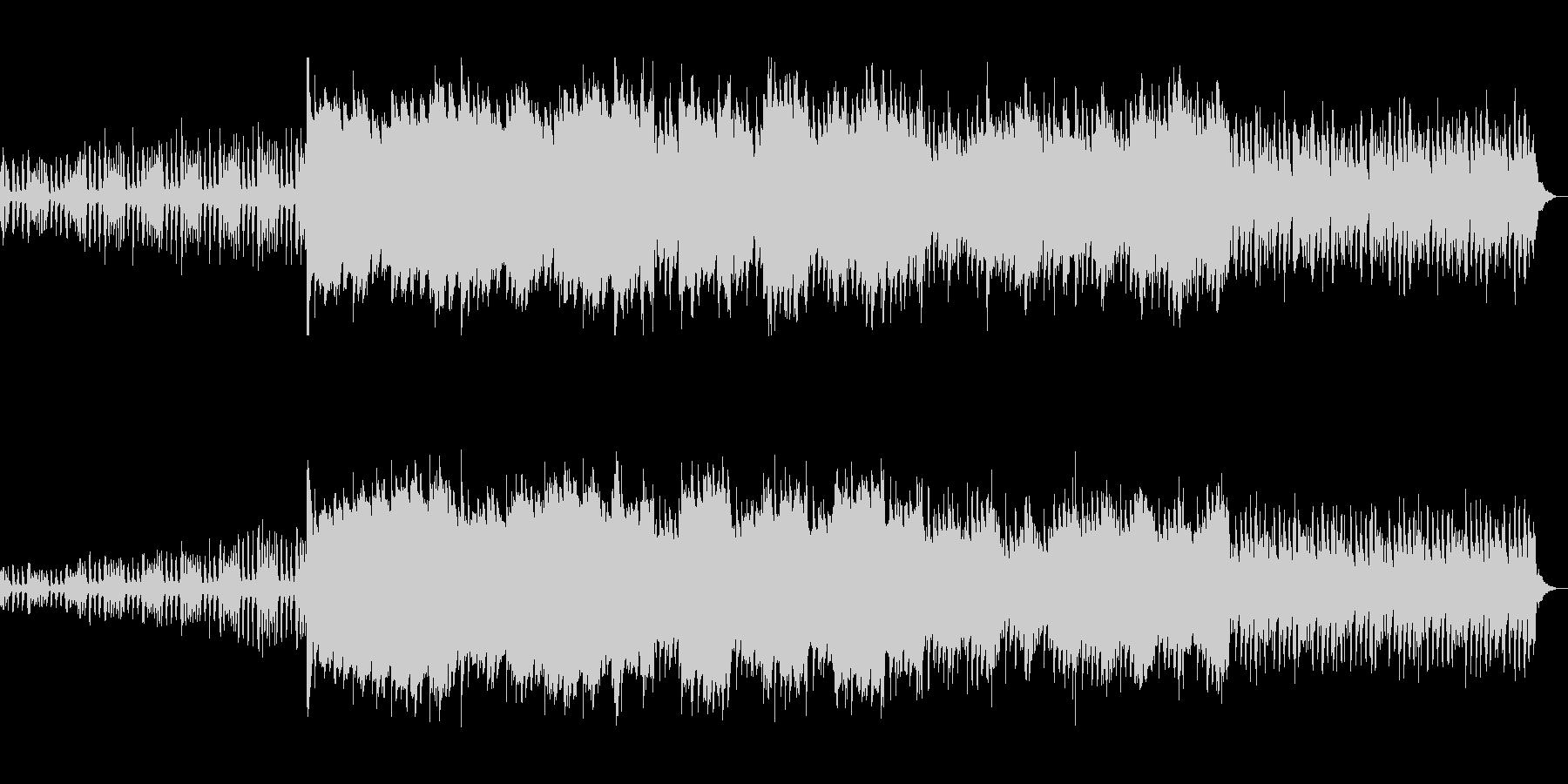 弦楽器とピアノのアンサンブルの未再生の波形