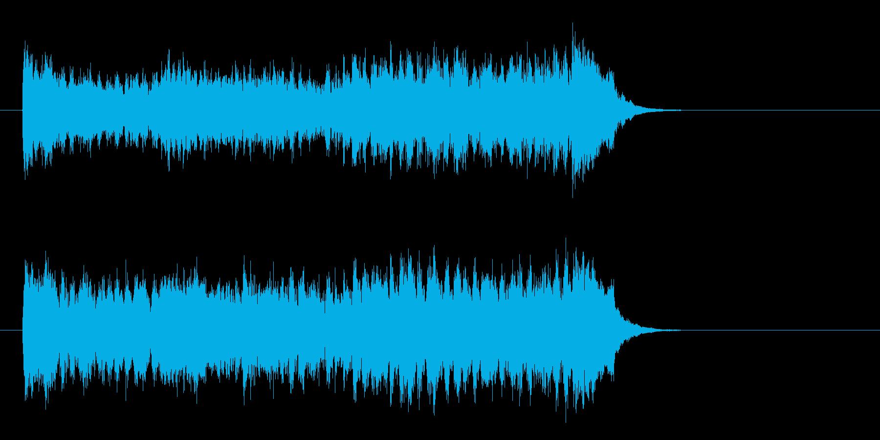 壮大な映画風オーケストラ(サビ)の再生済みの波形