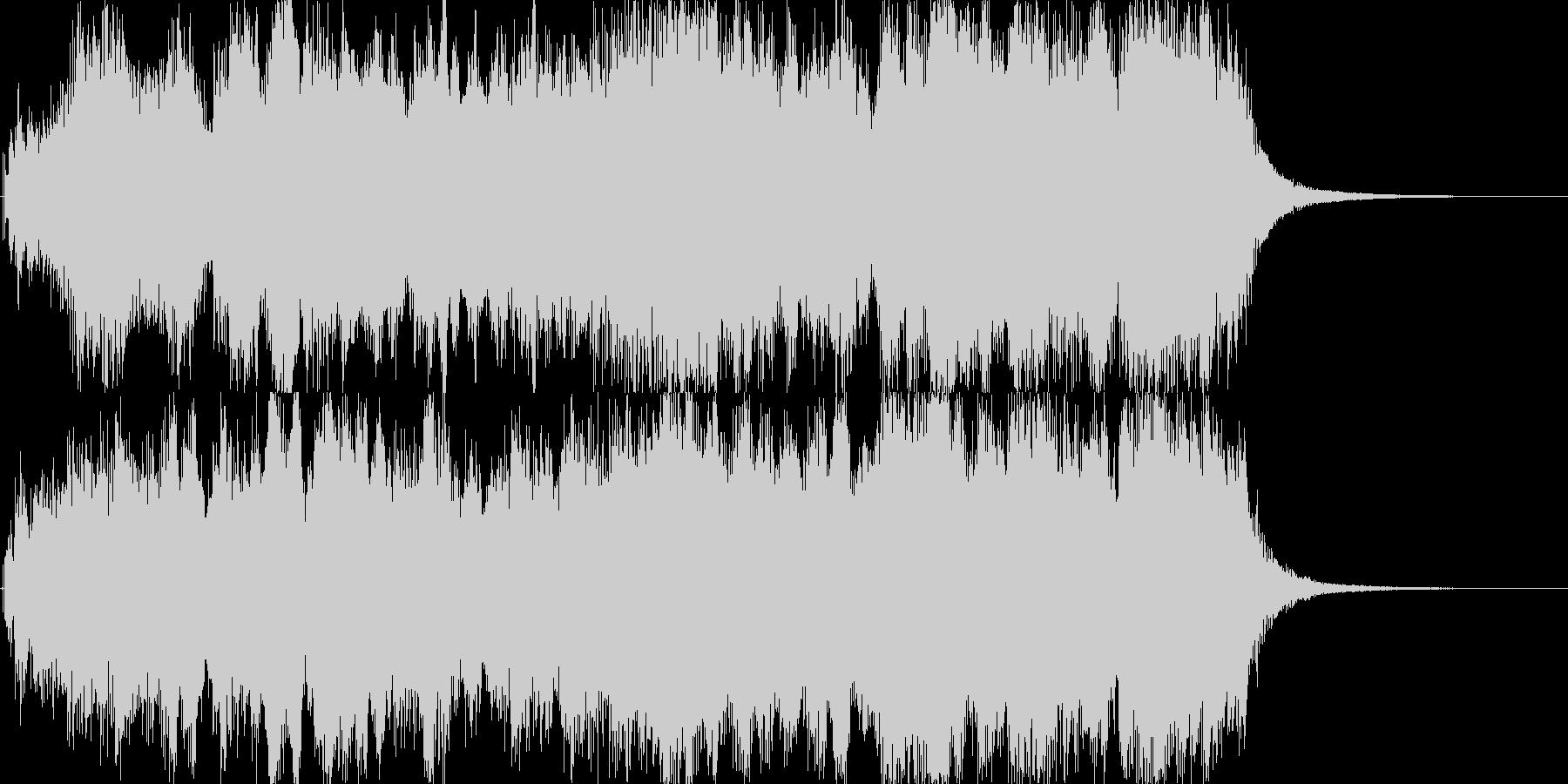 オープニングインパクト3の未再生の波形