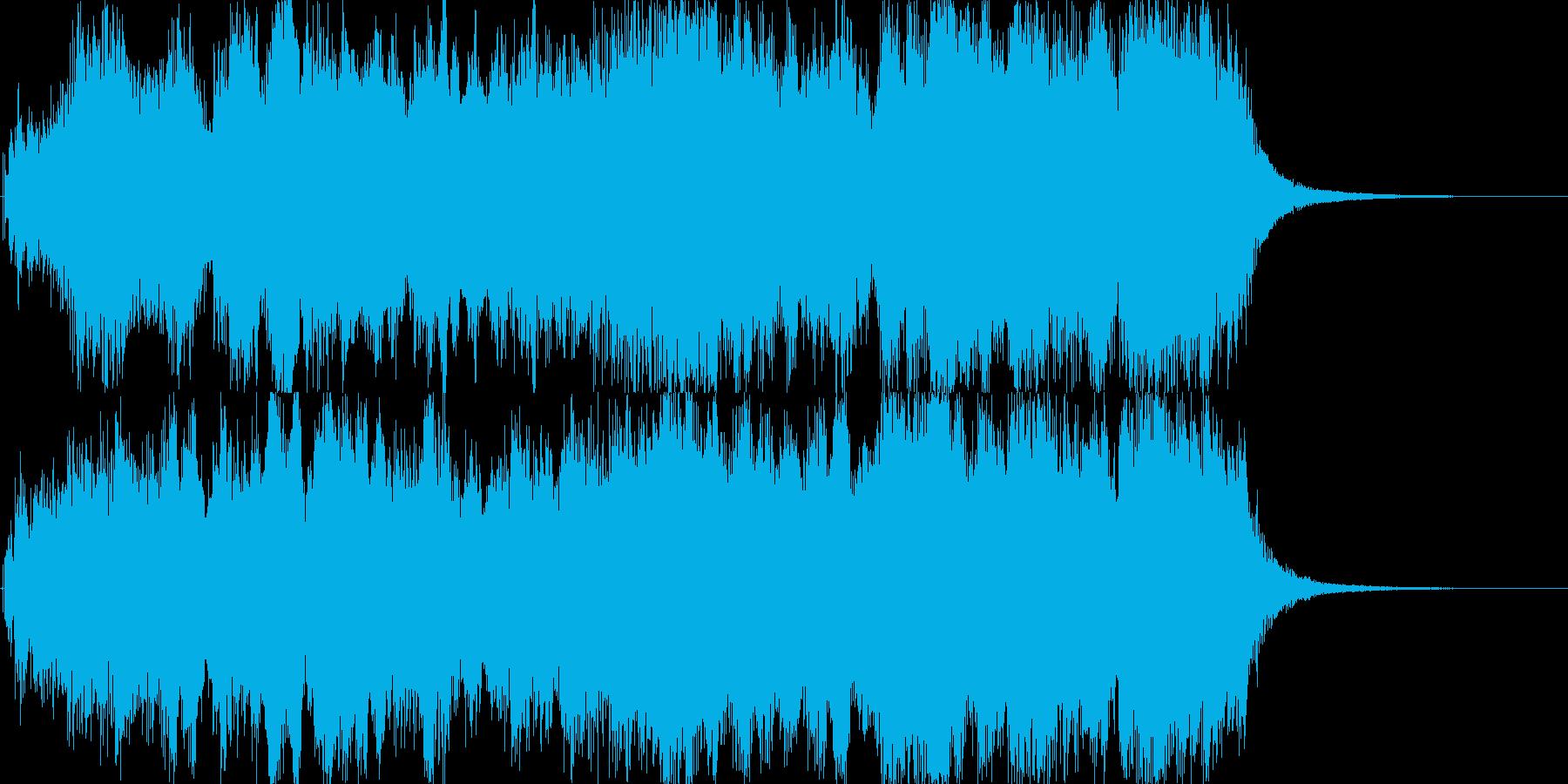 オープニングインパクト3の再生済みの波形