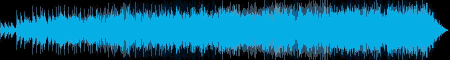 おしゃれで少しジャジーなスローポップスの再生済みの波形
