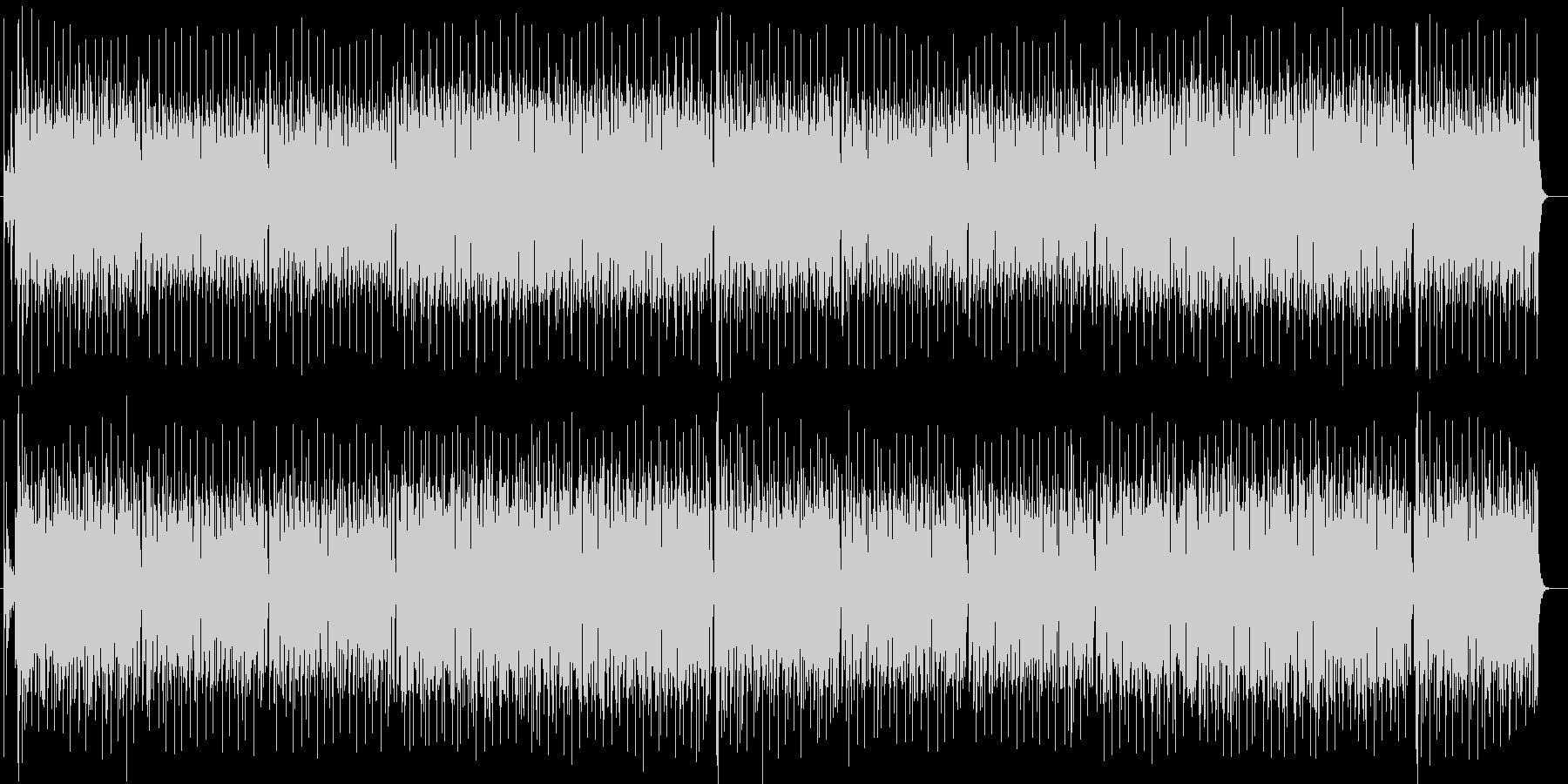 爽やかなシンセサイザー系サウンドの未再生の波形