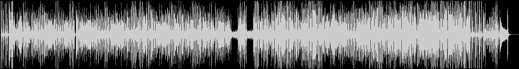 ワクワク楽しいピアノソロのラグタイムの未再生の波形