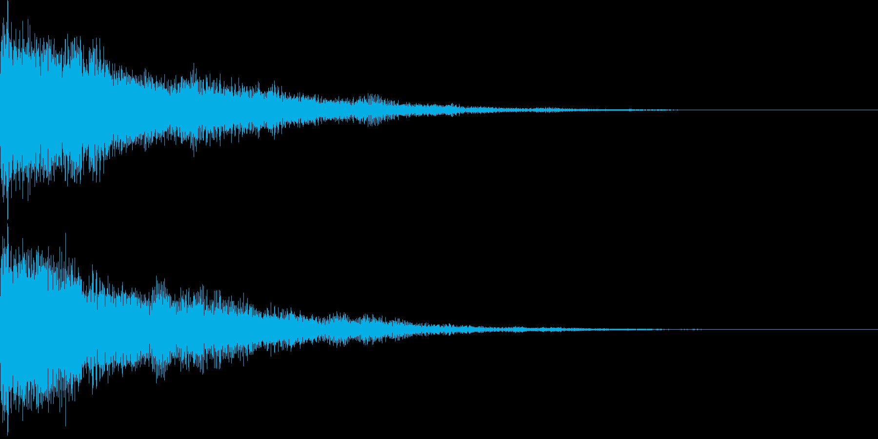 ピコーン(チャイム ひらめき スイッチ)の再生済みの波形