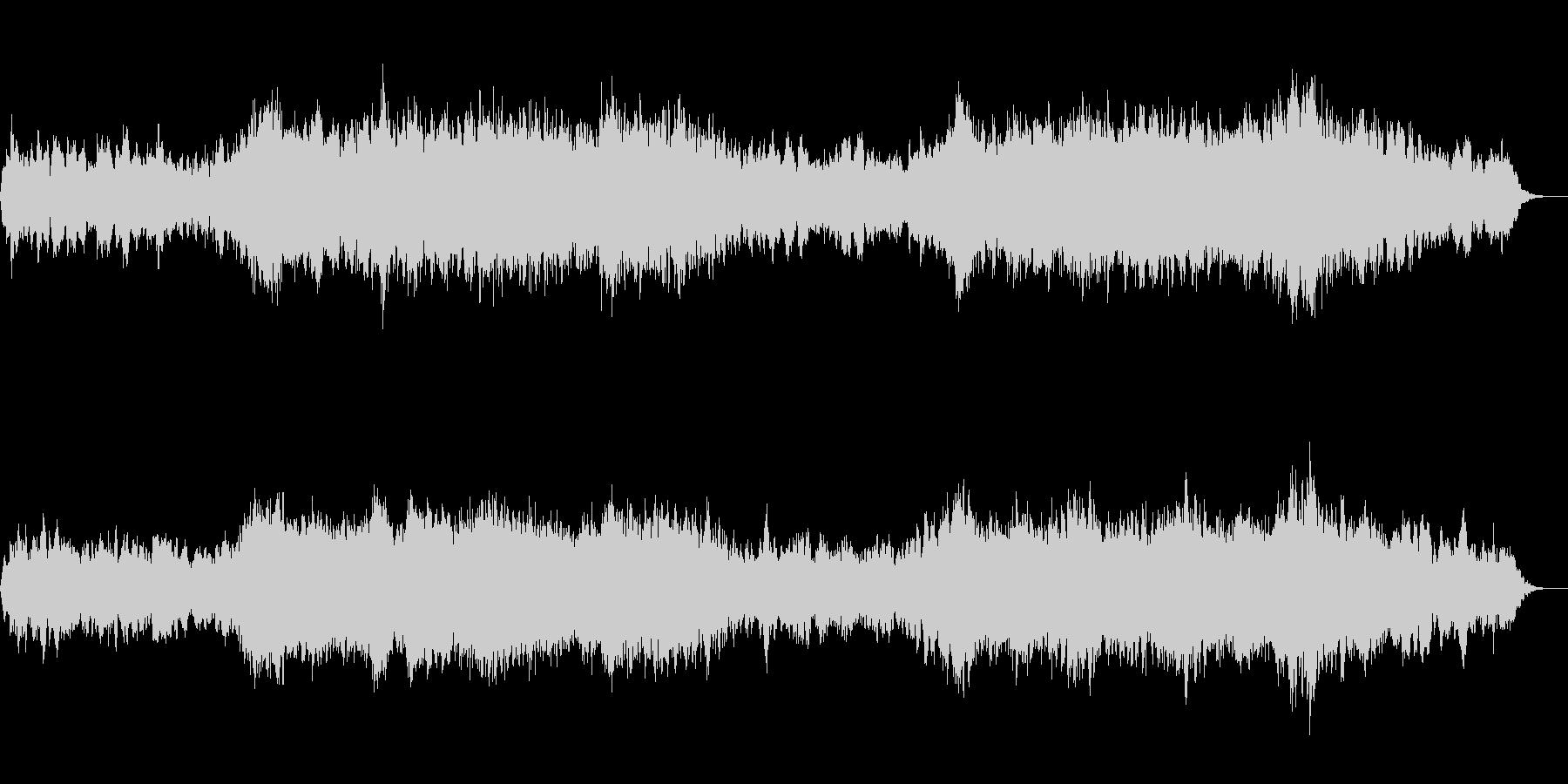 アンビエント環境音楽ヒーリング-05の未再生の波形