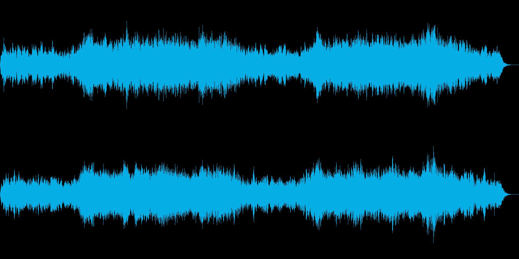 アンビエント環境音楽ヒーリング-05の再生済みの波形