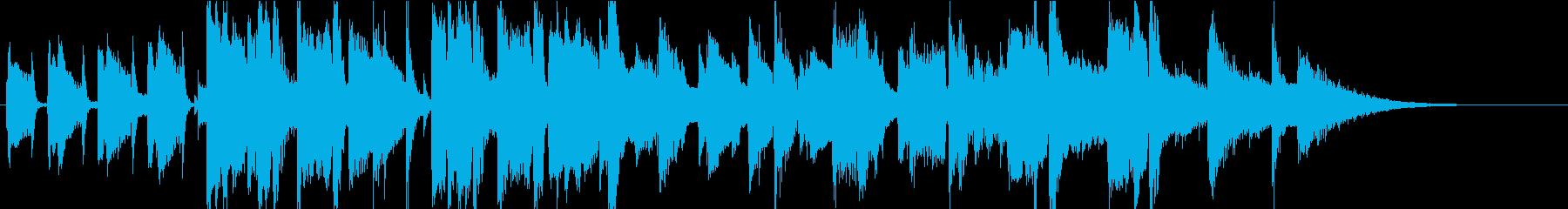 CMやジングルにあうジャズ曲の再生済みの波形