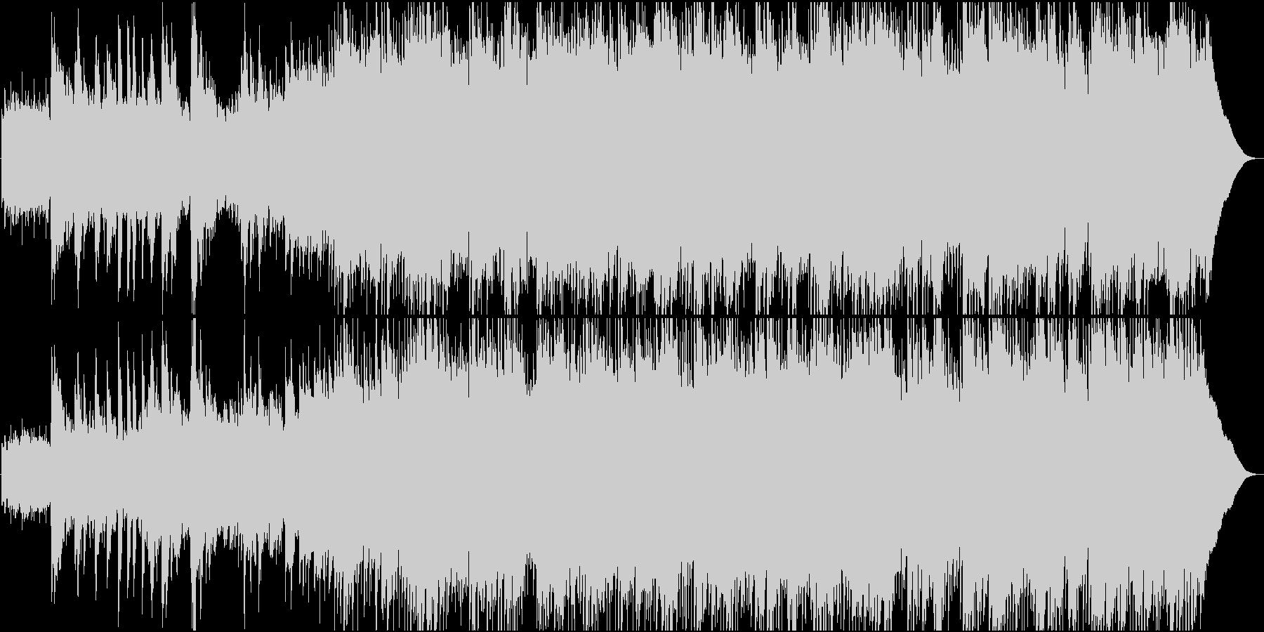 アコースティックギターの切ないポップスの未再生の波形