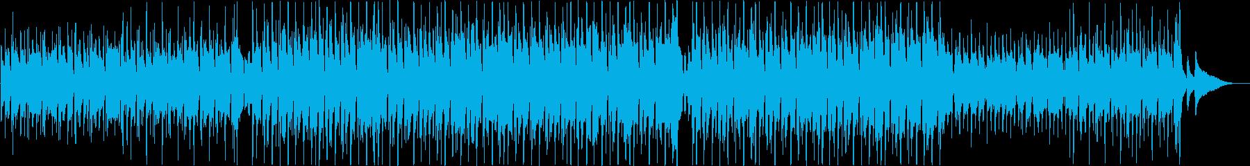 アコギ主体のほのぼのおさんぽポップスの再生済みの波形