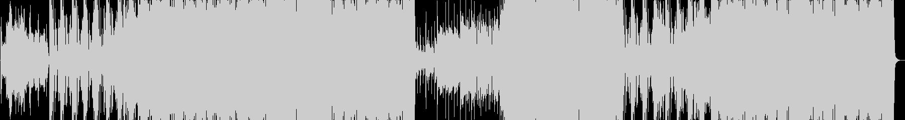 重たいオーケストラの未再生の波形