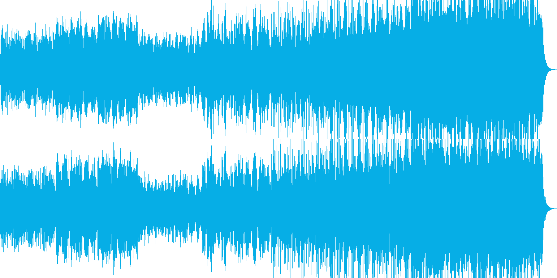 映像のためのバイオリンPOPの再生済みの波形