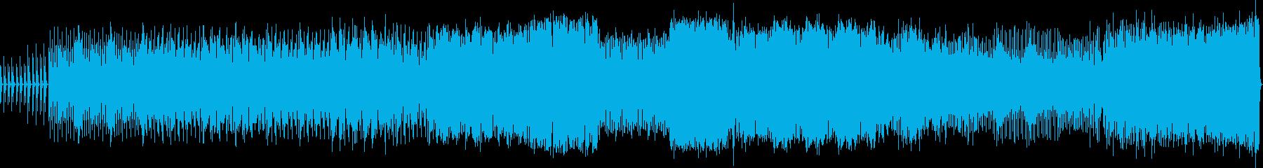 coolです かっこいいエレクトロの再生済みの波形