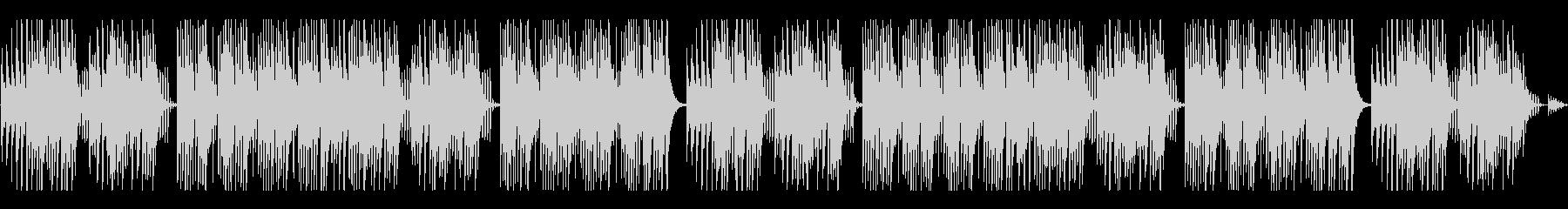 キュートでほのぼのした楽曲B:編集2の未再生の波形
