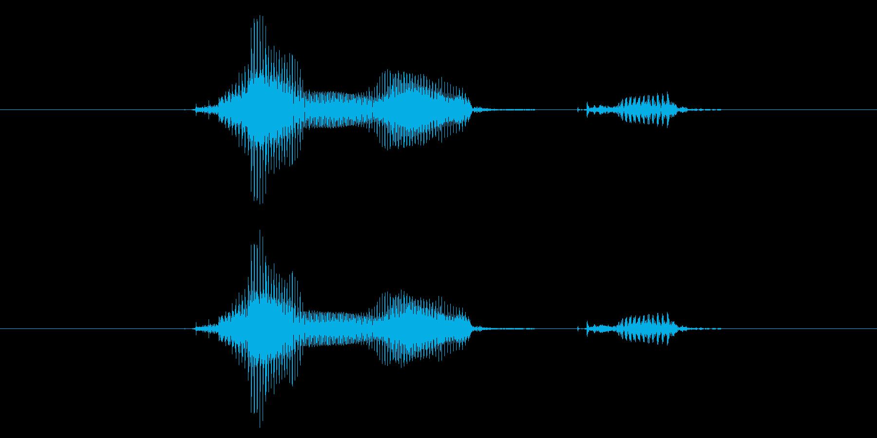 科学の再生済みの波形
