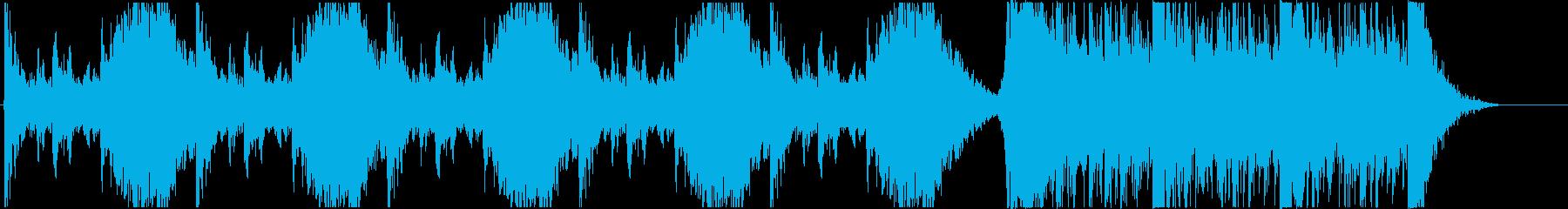 打楽器中心のトレーラーBの再生済みの波形