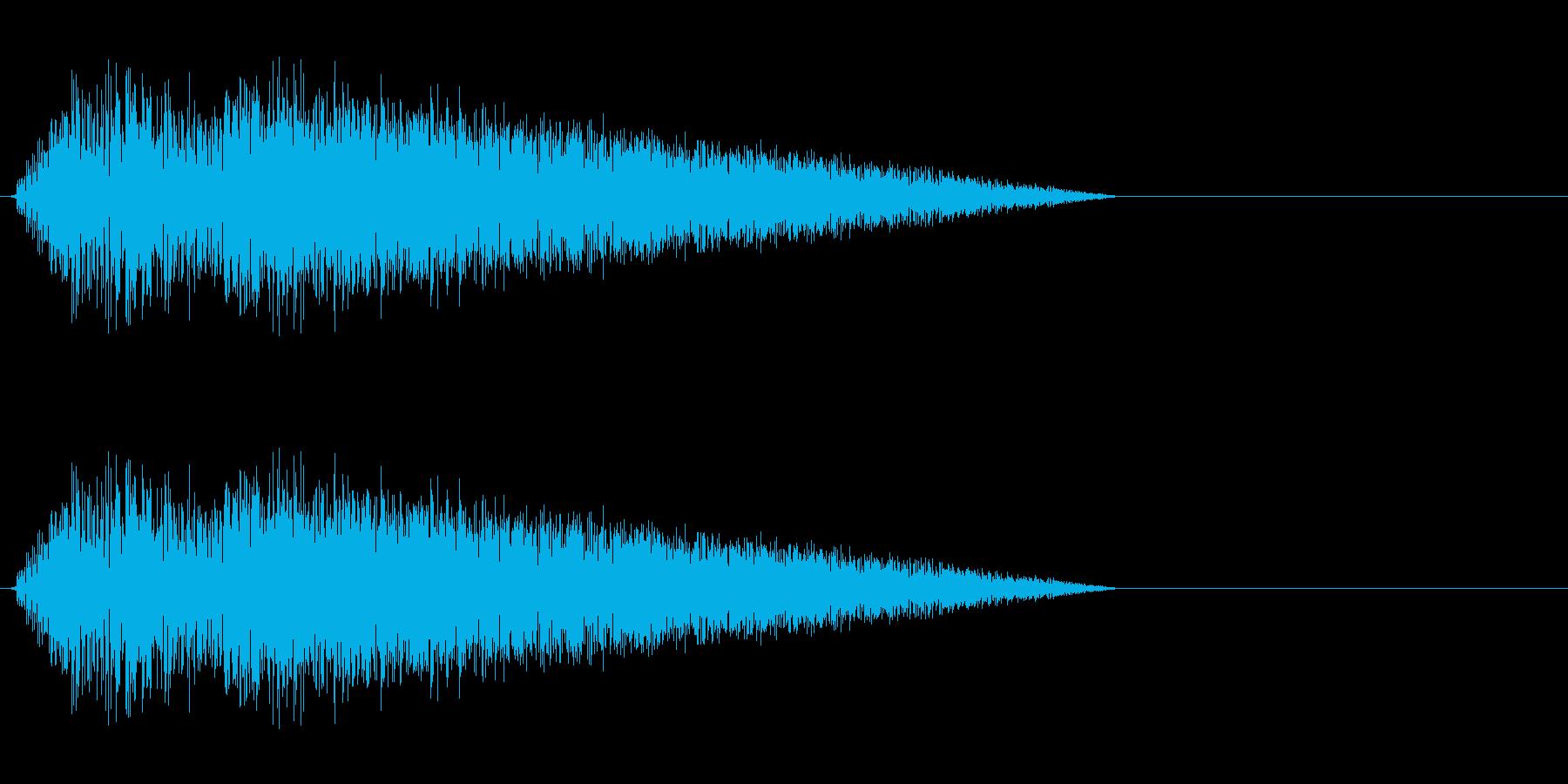 ざばーっ(水魔法、レトロゲーム)の再生済みの波形