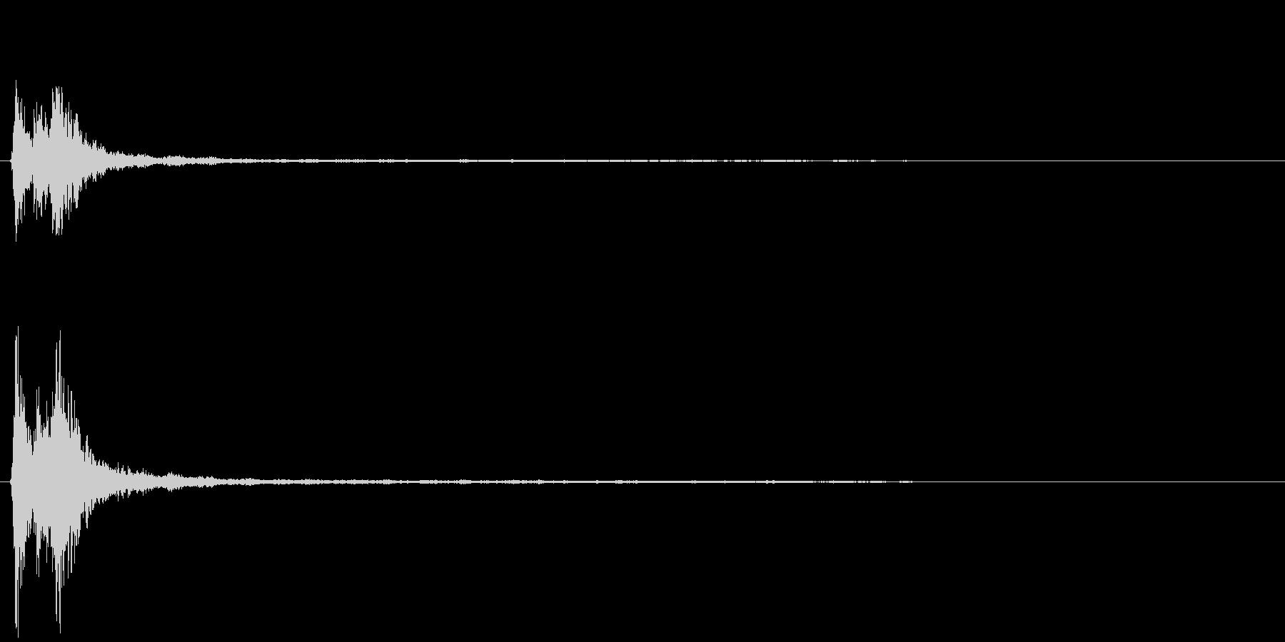 「シャシャーン」象徴的なソリベルの音1の未再生の波形