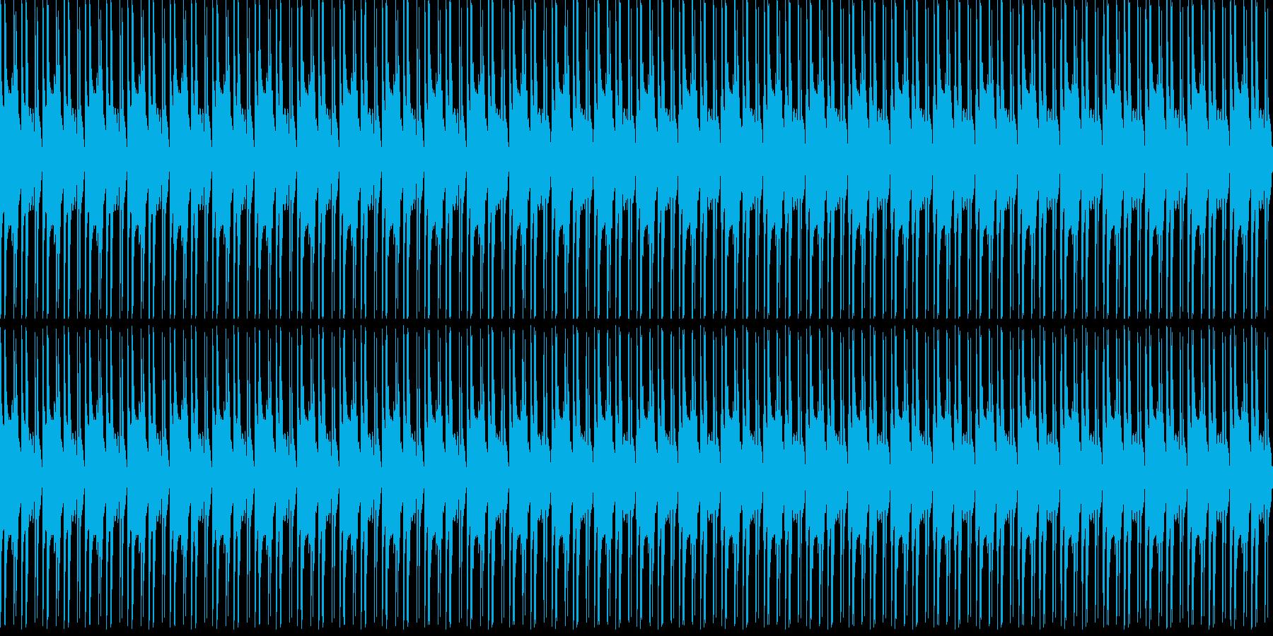 1、2、3、4の再生済みの波形